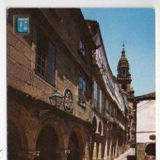 Postales: SANTIAGO DE COMPOSTELA. RUA DEL VILLAR.. Lote 46076483