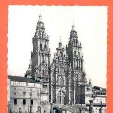 Postales: SANTIAGO - CATEDRAL - FACHADA DEL OBRADOIRO - BARROCO. Lote 46213297