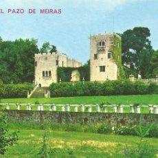 Postales: ** P22 - POSTAL - LA CORUÑA - EL PAZO DE MEIRAS - SIN CIRCULAR. Lote 46222846