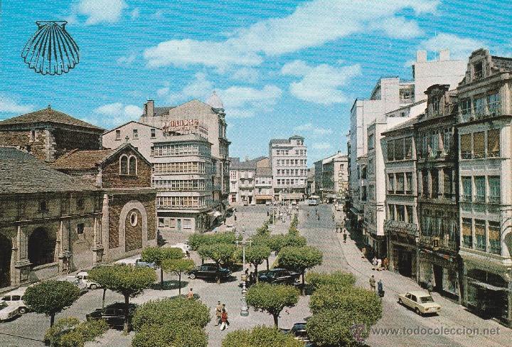Resultado de imagen de plaza de santo domingo en lugo