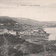 Postales: Nº 17272 POSTAL FERROL PAPELERIA DE EL CORREO GALLEGO LA CABANA. Lote 46223793