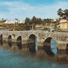 Postales: Nº 17367 POSTAL LA RAMALLOSA PUENTE ROMANO PONTEVEDRA. Lote 83811884