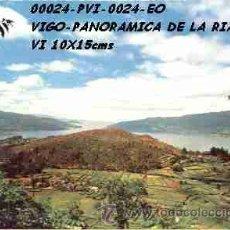 Postales: POSTAL VIGO VISTA PANORAMICA EDITORIAL ESCUDO DE ORO Nº24/24 AÑOS 60 Y 70*. Lote 113857624