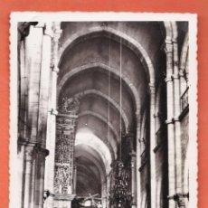 Postales: LUGO - CATEDRAL / CAPILLA DEL BUEN JESUS - Nº 134 - ED. ARRIBAS - NUEVA - AÑOS 40. Lote 46496676