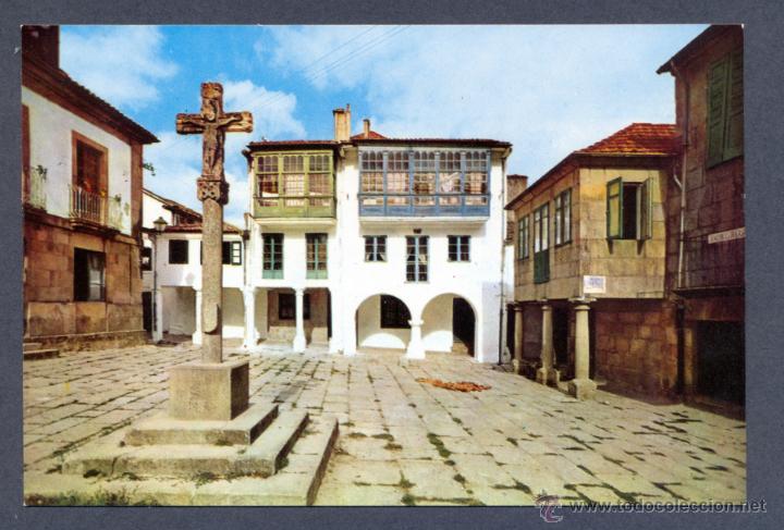 PONTEVEDRA. PLAZA DE LA LEÑA (Postales - España - Galicia Moderna (desde 1940))