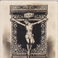 Postais: POSTAL DEL SANTISIMO CRISTO DE LA VICTORIA. VIGO. PONTEVEDRA. GALICIA. CIRCULADA CON SELLO. 1941. Lote 46645893