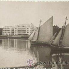 Postales: LA TOJA..- GRAN HOTEL. FRANQUEADO Y FECHADO EN 1954.. Lote 46718143