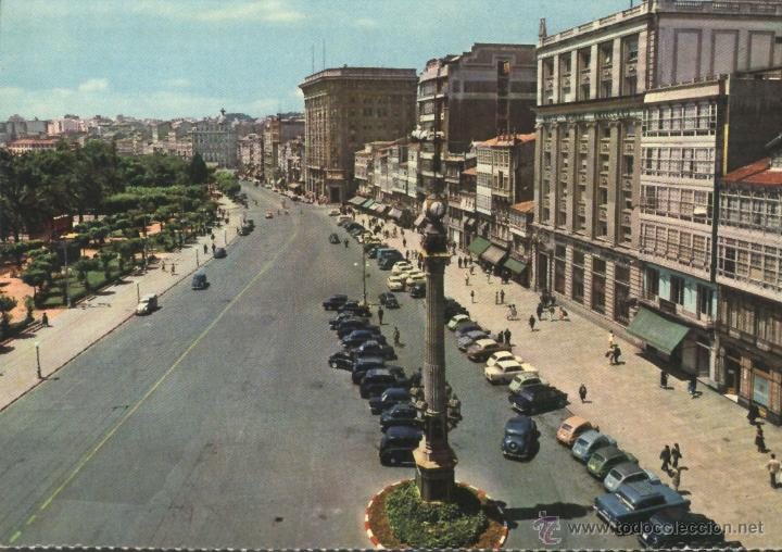 LA CORUÑA - AVENIDA DE LOS CANTONES (Postales - España - Galicia Moderna (desde 1940))