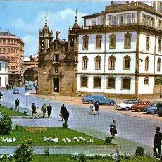 Postales: LUGO - 373 CALLE Y PUERTA DE SAN FERNANDO - IGLESIA DE SAN FROILÁN. Lote 47038491