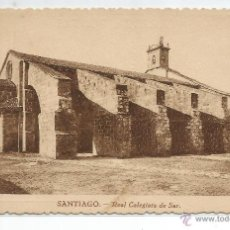 Postales: SANTIAGO .- REAL COLEGIATA DE SAR .-GRAFICAS VILLARROCA , S.A. . Lote 47094816