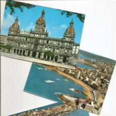 Postales: LOTE 3 POSTALES DE LA CORUÑA. VER LISTADO Y FOTOGRAFÍAS.. Lote 47268532