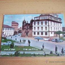 Postales: LUGO -- CALLE Y PUERTA DE SAN FERNANDO. IGLESIA DE SAN FROILAN --. Lote 47286594
