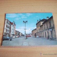 Postales: MONFORTE DE LEMOS ( LUGO ) PLAZA DE LA ESTACION. Lote 47286693