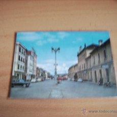 Postales: MONFORTE DE LEMOS ( LUGO ) PLAZA DE LA ESTACION. Lote 47286754
