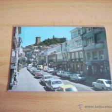 Postales: MONFORTE DE LEMOS ( LUGO ) CALLE DEL CARDENAL. Lote 47286791