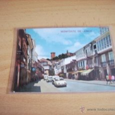 Postales: MONFORTE DE LEMOS ( LUGO ) CALLE DEL CARDENAL. Lote 47286895