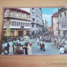 Postales: PONTEVEDRA -- FIESTAS DE LA PEREGRINA.CARROZA. --. Lote 47289142