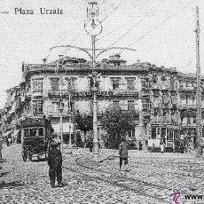 Postales: POSTAL DE VIGO - PLAZA URZAIZ - TETILLA AÑOS 10 - RARA. Lote 47386369