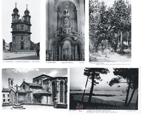 Postales: LOTE 11 POSTALES ANTIGUAS DE GALICIA: VIGO, PONTEVEDRA, BETANZOS, MONDOÑEDO, VERIN - Foto 3 - 47468823
