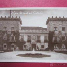 Postales: PONTEVEDRA. VIGO. PALACIO DE CASTRELOS. G.H. ALSINA Nº 25. POSTAL FOTOGRAFICA.. Lote 47538897