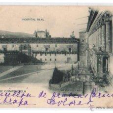 Postales: TARJETA POSTAL SANTIAGO DE COMPOSTELA. HOSPITAL REAL. Nº 451. AÑO 1904. Lote 47593401