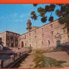 Postales: POSTAL - CORUÑA - SANTIAGO COMPOSTELA IGLESIA SANTO DOMINGO - ED. ALARDE - CIRCULADA . Lote 47748775