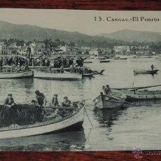 Postales: POSTAL DE CANGAS (PONTEVEDRA) - EL PUERTO - ED. GRAFOS - NO CIRCULADA.. Lote 47828621
