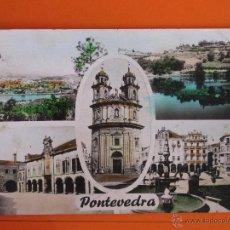 Postales: POSTAL - PONTEVEDRA - VISTAS - ED. ARTIGOT - NO CIRCULADA. Lote 47893008