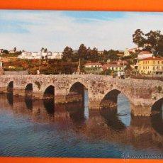 Postales: POSTAL - PONTEVEDRA - LA RAMALLOSA PUENTE ROMANO - ED. ARRIBAS - NO CIRCULADA. Lote 47893408