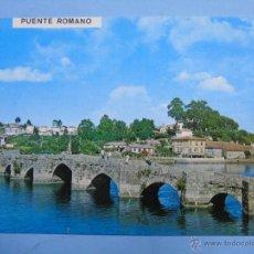 Postales: POSTAL DE PONTEVEDRA. AÑO 1971. RAMALLOSA, PUENTE ROMANO. 732. Lote 47964250