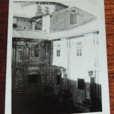 Postales: FOTOGRAFIA DE ORENSE, MONASTERIO DE OSEIRA, MIDE 10 X 7,4 CMS.. Lote 47968837