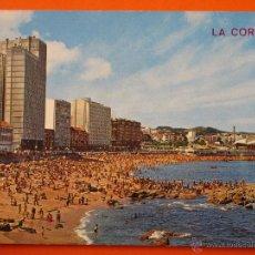 Postales: POSTAL - CORUÑA - PLAYA RIAZOR - ARRIBAS - NO CIRCULADA . Lote 48298053