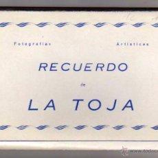 Postales: BLOCK RECUERDO DE LA TOJA. PONTEVEDRA. 10 POSTALES. Lote 48451057