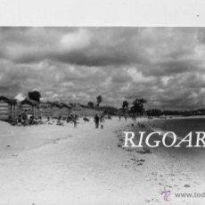 Postales: SANTA EUGENIA DE RIVEIRA (CORUÑA).- VISTA DE LA PLAYA DE COROSO. Lote 48565876