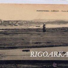 Postales: PONTEVEDRA.- CANGAS- FORTE EL TENDAL. Lote 48643010