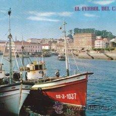 Cartes Postales: EL FERROL DEL CAUDILLO - MUELLE CONCEPCION ARENAL - BARCAS - Nº 535 - ED PARIS - AÑO 1968 - ESCRITA. Lote 48736276