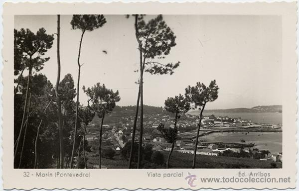 32 MARÍN (PONTEVEDRA) VISTA PARCIAL. ED. ARRIBAS (Postales - España - Galicia Moderna (desde 1940))