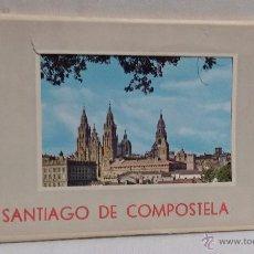 Postales: POSTALES - TIRA DE 10 POSTALES DE SANTIAGO DE COMPOSTELA- AÑOS 70. Lote 48885550
