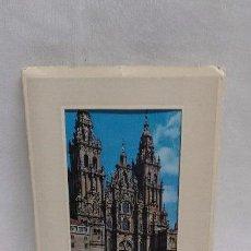 Postales: POSTALES - TIRA DE 10 POSTALES DE SANTIAGO DE COMPOSTELA- AÑOS 70. Lote 48885616