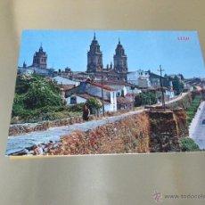 Postales: POSTAL-LUGO-VISTA PARCIAL+ANTIGUAS MURALLAS-1967-ANTIGUA-VER FOTOS.. Lote 48936252