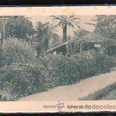 Postales: TARJETA POSTAL DE ORENSE - JARDIN DE POSIO. DETALLE. AGENCIA PUBLICITARIA NORMA. Lote 48972453