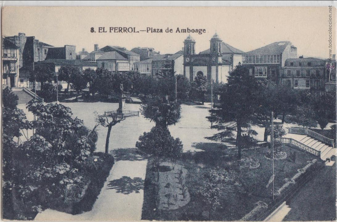 P- 1030. ANTIGUA POSTAL FOTOGRAFICA DE EL FERROL. (Postales - España - Galicia Antigua (hasta 1939))