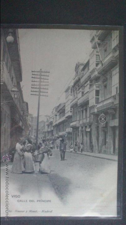 TARJETA POSTAL DE VIGO, CALLE DEL PRINCIPE, HAUSER Y MENET (Postales - España - Galicia Moderna (desde 1940))