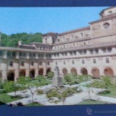 Postales: POSTAL LUGO .MONASTERIO DE SAMOS .CLAUSTRO CLASICISTA. Lote 49596876