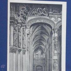 Cartes Postales: POSTAL ORENSE.CATEDAL.PORTICO DE LA GLORIA. Lote 49610592