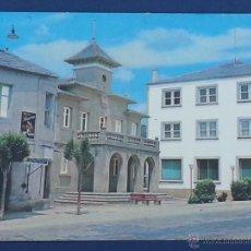 Postales: POSTAL LUGO BARALLA AYUNTAMIENTO Y CARRETERA HOTEL DE VILLE . Lote 50156332