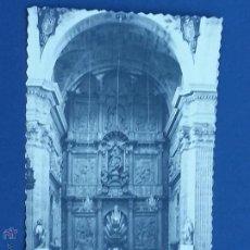 Cartoline: POSTAL LUGO MONFORTE DE LEMOS IGLESIA DE LOS ESCOLAPIOS RETABLO. Lote 49639844