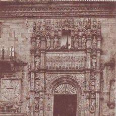 Postales: SANTIAGO DE COMPOSTELA: ENTRADA DEL HOSPITAL REAL. MADRID, HAUSER Y MENET. Lote 49658824