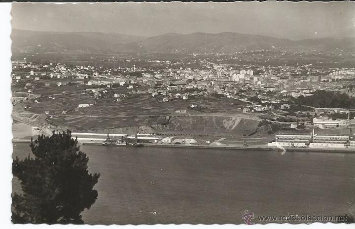 EL FERROL - VISTA GENERAL - Nº 218 EDICIONES ARRIBAS (Postales - España - Galicia Moderna (desde 1940))