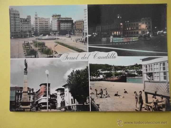 FERROL DEL CAUDILLO. ED. PARÍS (Postales - España - Galicia Moderna (desde 1940))